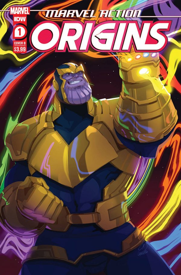 Comic Pulls for the week of February 12, 2021 Marvel Action Origins #1 Cover B