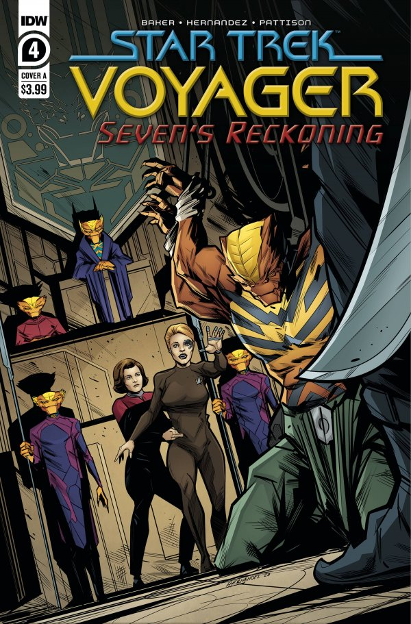 Comic Pulls for the week of February 12, 2021 Star Trek Voyager – Seven's Reckoning #4
