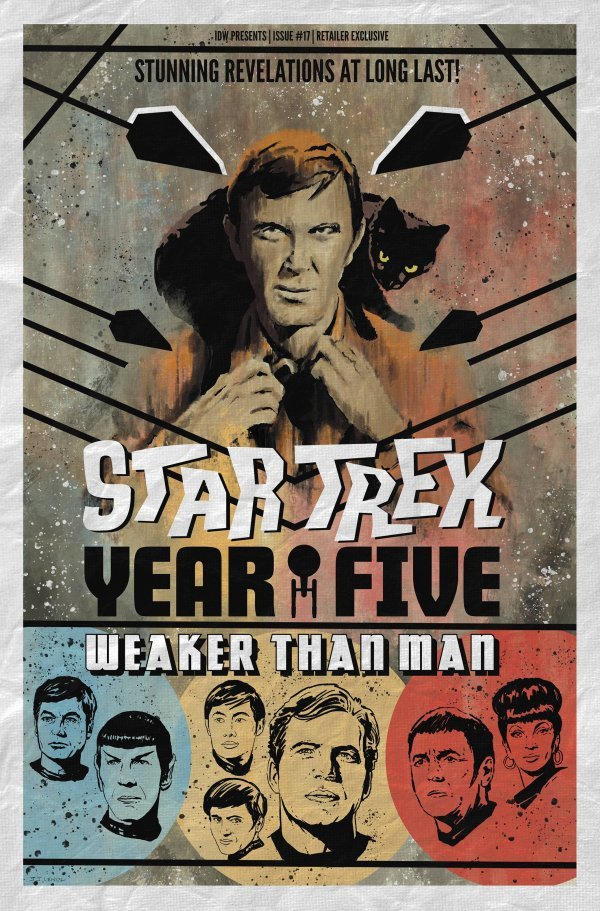 Comic Pulls for the week of February 12, 2021 Star Trek Year Five #17 110 Incentive Variant