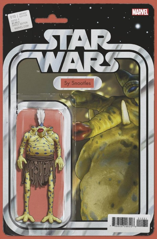 Comic Pulls for the week of February 12, 2021 Star Wars #10 Christopher Action Figure Variant