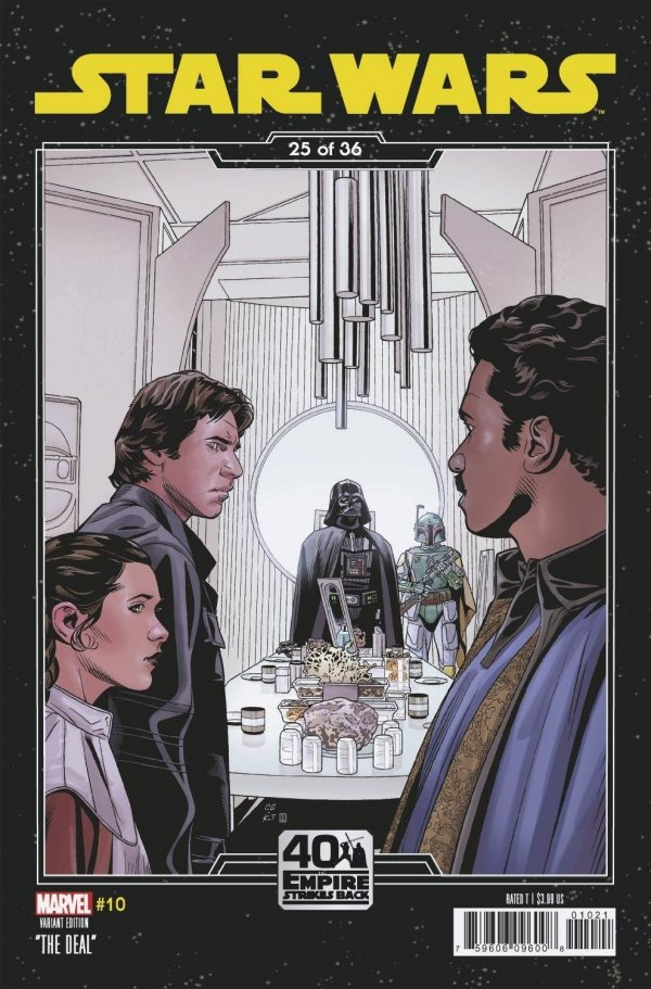 Comic Pulls for the week of February 12, 2021 Star Wars #10 Sprouse Empire Strikes Back Variant