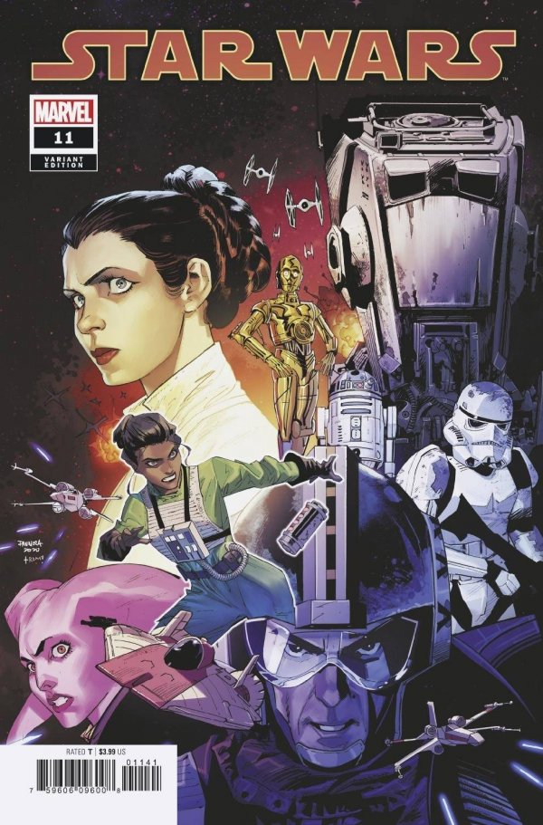 Comic Pulls for the week of February 12, 2021 Star Wars #11 Mora Variant