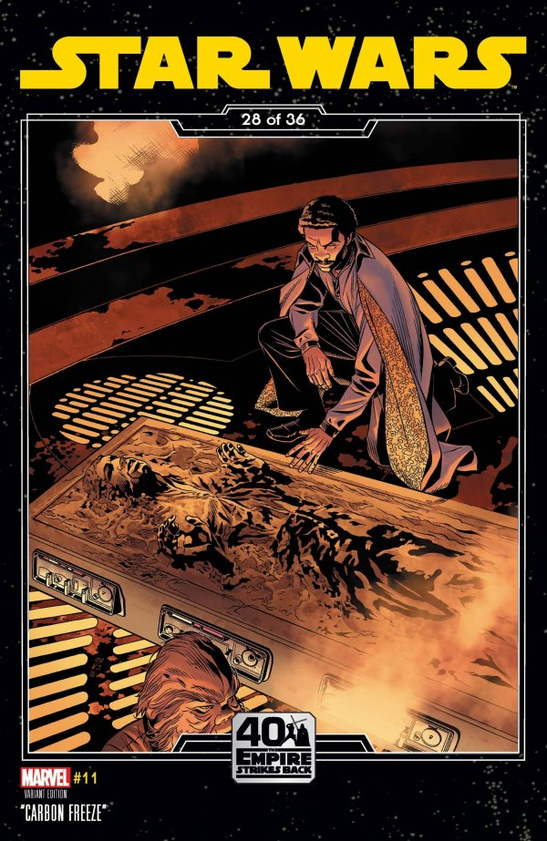 Comic Pulls for the week of February 12, 2021 Star Wars #11 Sprouse Empire Strikes Back Variant