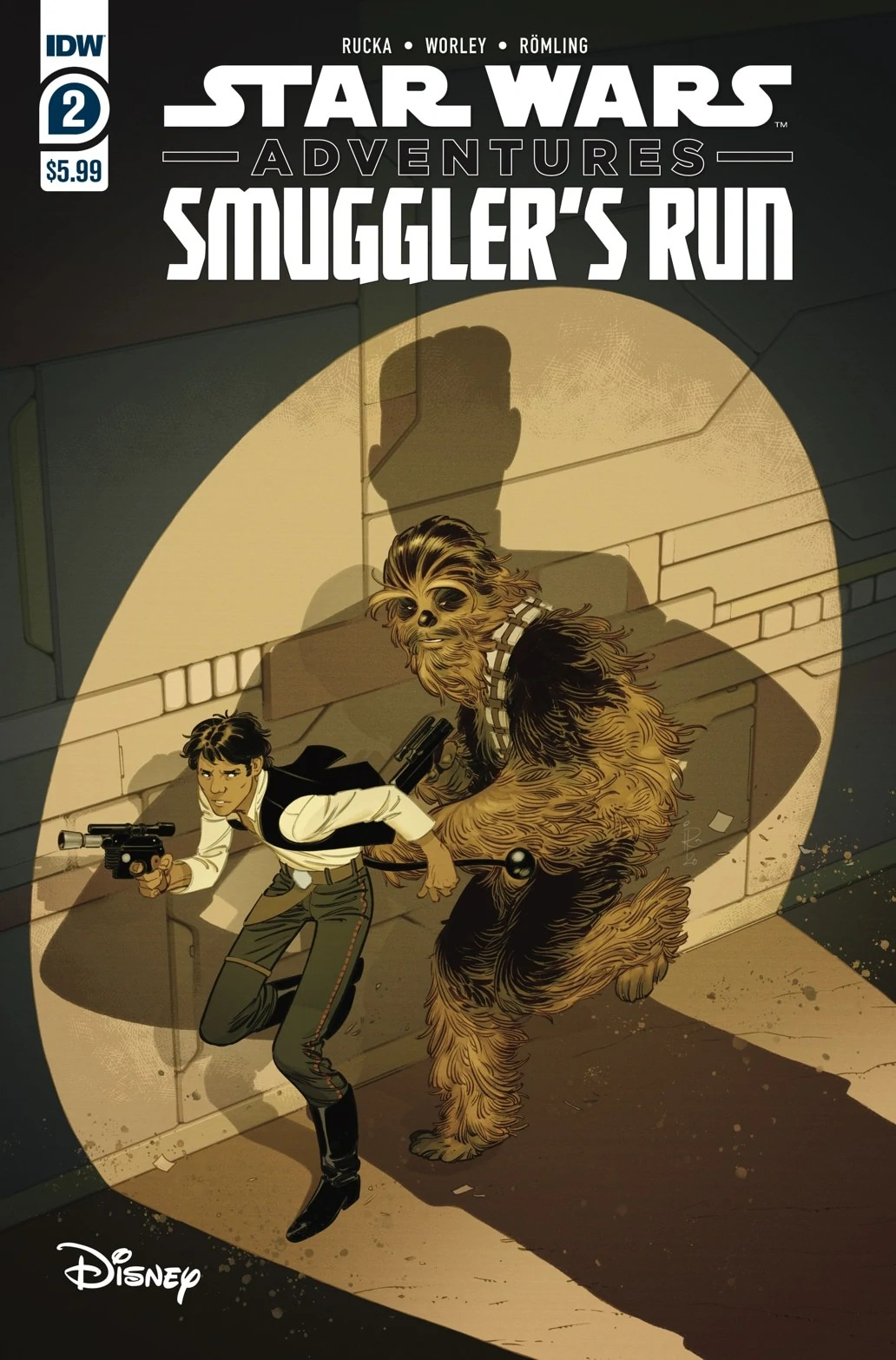 Comic Pulls for the week of February 12, 2021 Star Wars Adventures Smuggler's Run #2