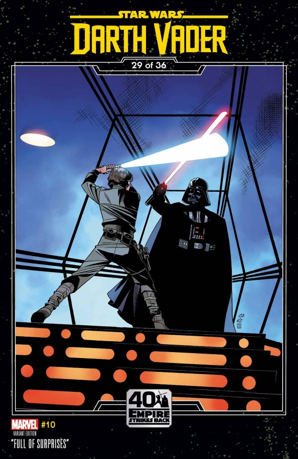 Comic Pulls for the week of February 12, 2021 Star Wars Darth Vader #10 Sprouse Empire Strikes Back Variant
