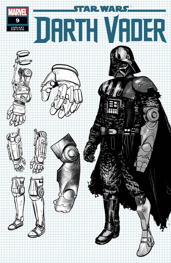 Comic Pulls for the week of February 12, 2021 Star Wars Darth Vader #9 110 Ienco Design Variant