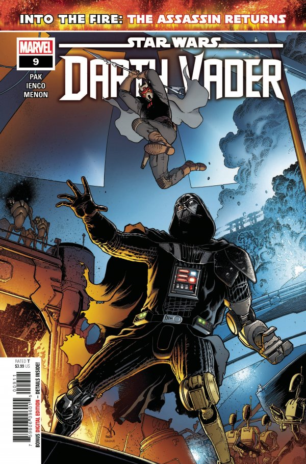 Comic Pulls for the week of February 12, 2021 Star Wars Darth Vader #9