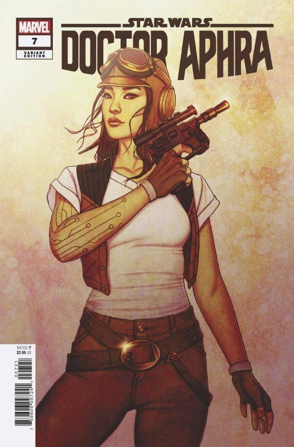 Comic Pulls for the week of February 12, 2021 Star Wars Doctor Aphra #7 125 Frison Variant