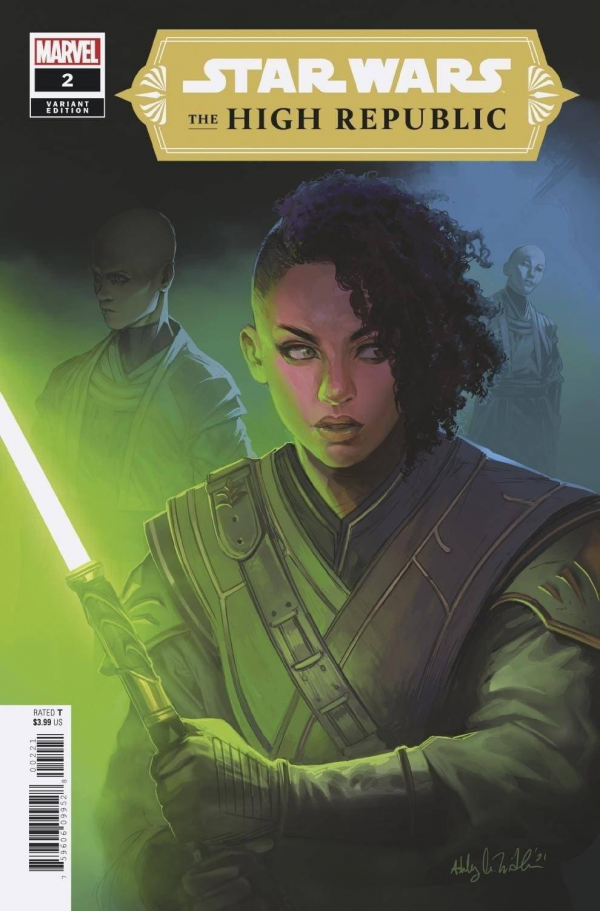 Comic Pulls for the week of February 12, 2021 Star Wars The High Republic #2 Witter Variant