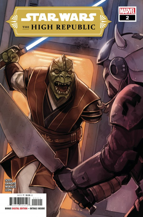 Comic Pulls for the week of February 12, 2021 Star Wars The High Republic #2