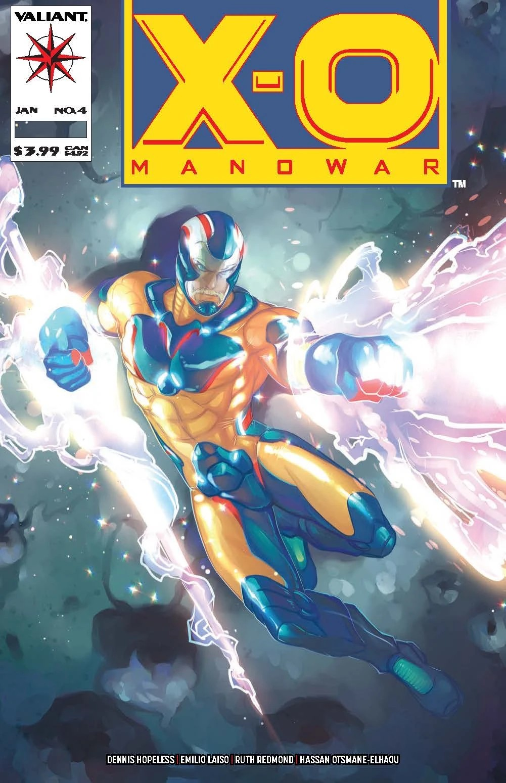 Comic Pulls for the week of February 12, 2021 X-O Manowar #4 Meghan Hetrick Variant A