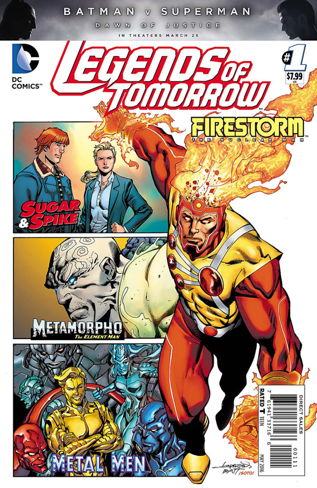 Legends of Tomorrow Anthology Review Legends of Tomorrow Anthology