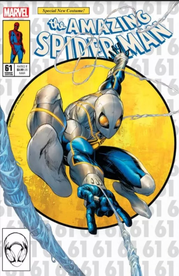 Comic Pulls for the week of March 10, 2021 The Amazing Spider-Man #61 Tyler Kirkham Variant A