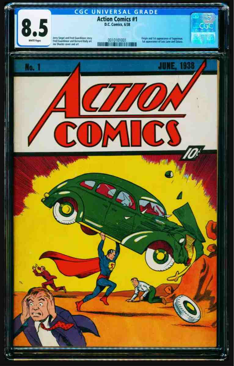 New record for the most expensive comic book ever sold New record for the most expensive comic book ever sold