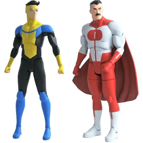 Invincible 7-Inch Scale Action Figure Series 1 Set Invincible 7-Inch Scale Action Figure Series 1 Set