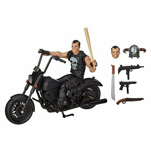 77d57ea09bbc4d229a3000b5e86bfd03lg 500x500 Marvel Legends Series 6 inch The Punisher Action Figure with Motorcycle