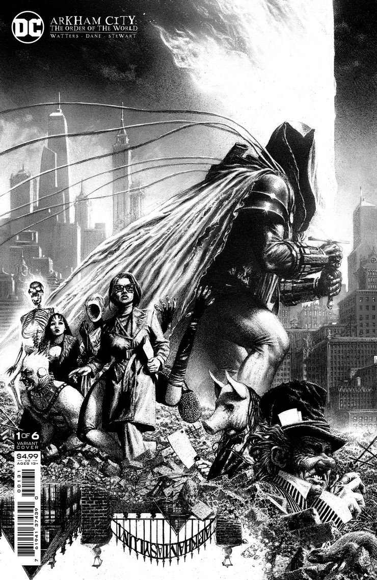 ARKHAM CITY THE ORDER OF THE WORLD 1 C Recent Comic Cover Updates For The Week Ending 2021 07 23