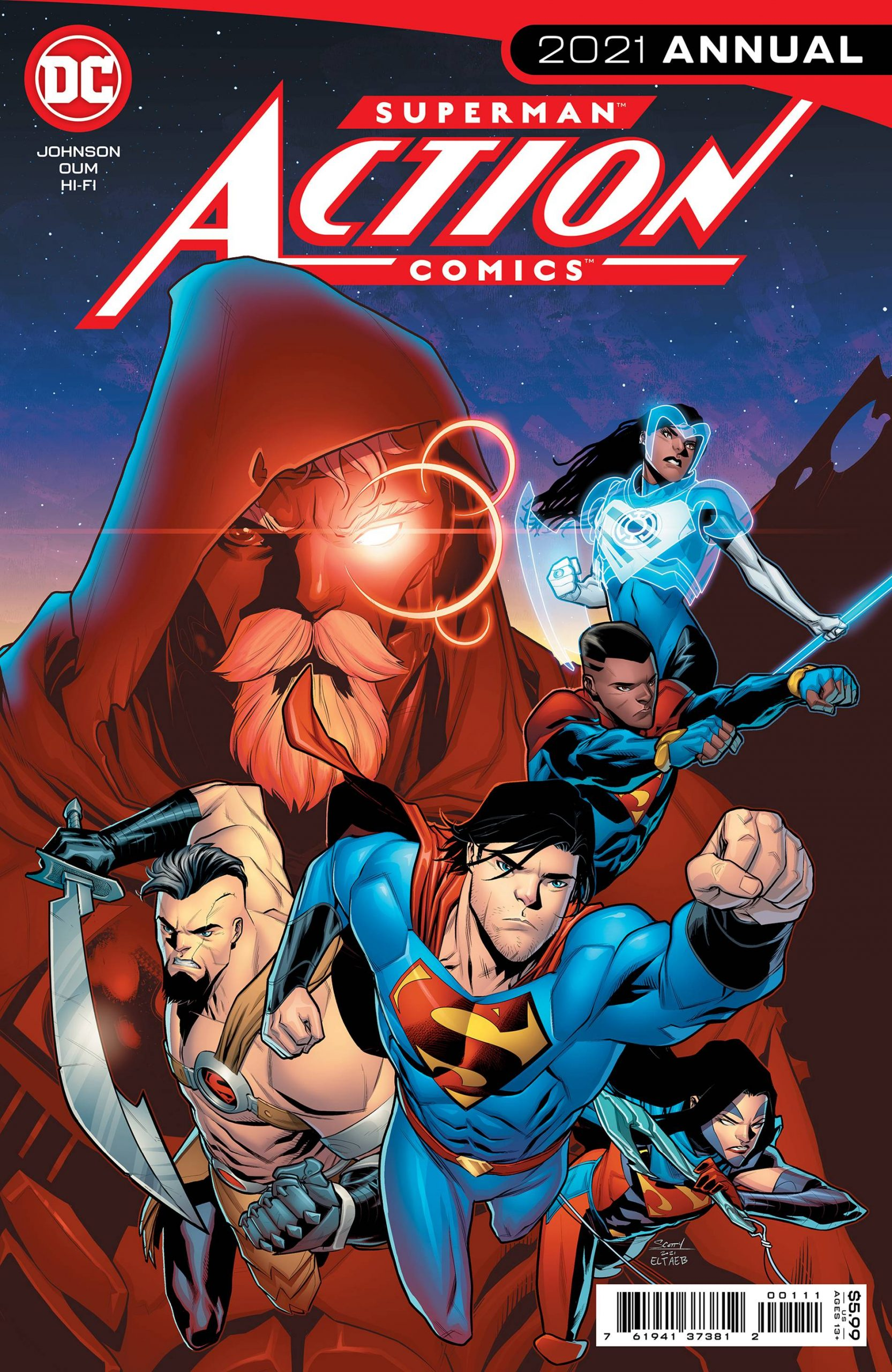 Action Comics 2021 Annual 1 spoilers 0 1 scaled 1 Recent Comic Cover Updates For The Week Ending 2021 07 23