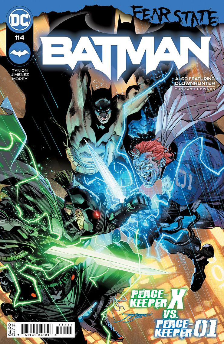 Batman 114 A Recent Comic Cover Updates For The Week Ending 2021 07 23