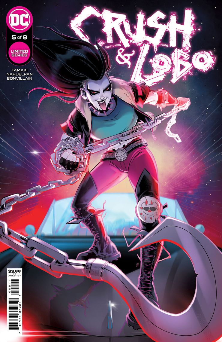 CRUSH LOBO 5 A Recent Comic Cover Updates For The Week Ending 2021 07 23