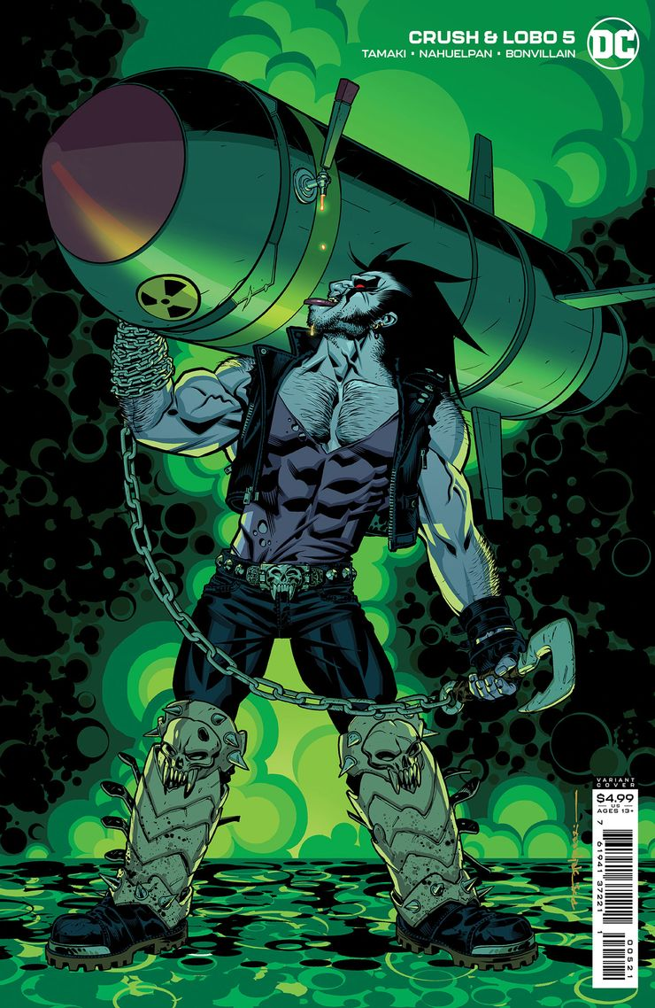 CRUSH LOBO 5 B Recent Comic Cover Updates For The Week Ending 2021 07 23