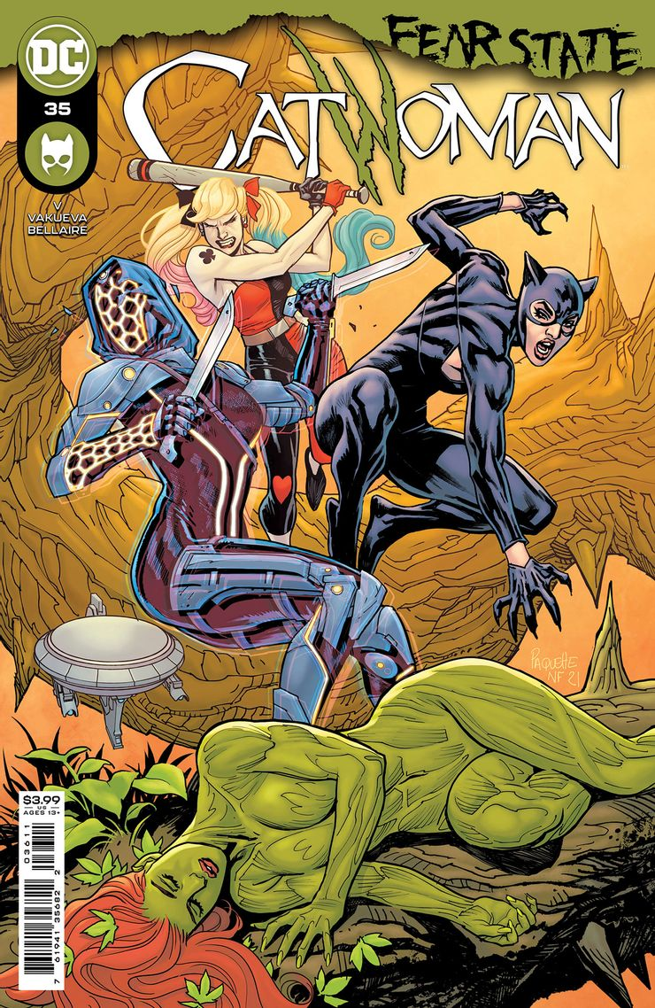 Catwoman 36 A Recent Comic Cover Updates For The Week Ending 2021 07 23