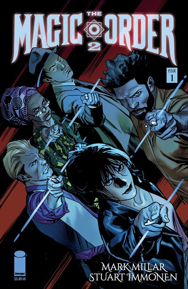 Magic Order 2 1 A Recent Comic Cover Updates For The Week Ending 2021 07 23