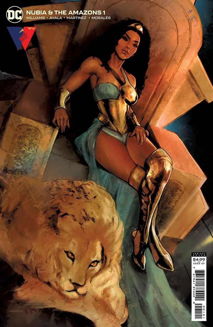 NUBIA THE AMAZONS 1 B Recent Comic Cover Updates For The Week Ending 2021 07 23