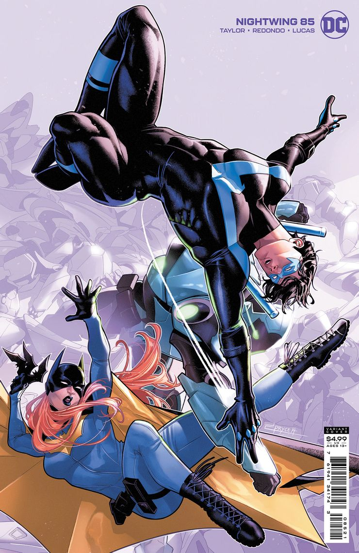 Nightwing 85 B Recent Comic Cover Updates For The Week Ending 2021 07 23