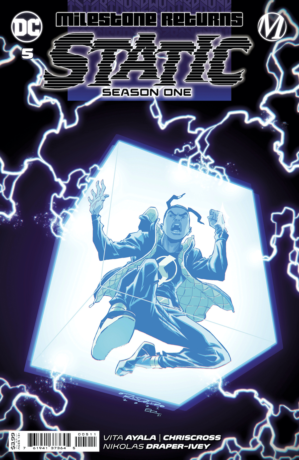 STATIC S1 Cv5 00511 Recent Comic Cover Updates For The Week Ending 2021 07 23