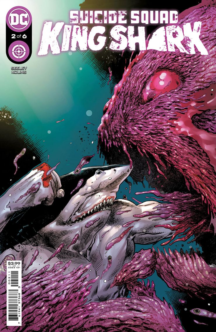 SUICIDE SQUAD KING SHARK 2 A Recent Comic Cover Updates For The Week Ending 2021 07 23