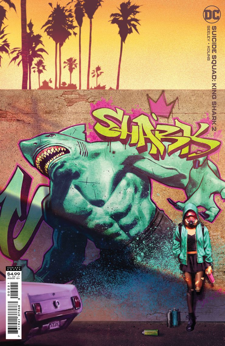SUICIDE SQUAD KING SHARK 2 B Recent Comic Cover Updates For The Week Ending 2021 07 23