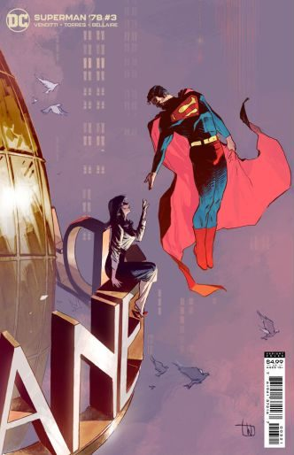 Superman 78 3 C e1626555469832 Recent Comic Cover Updates For The Week Ending 2021 07 23
