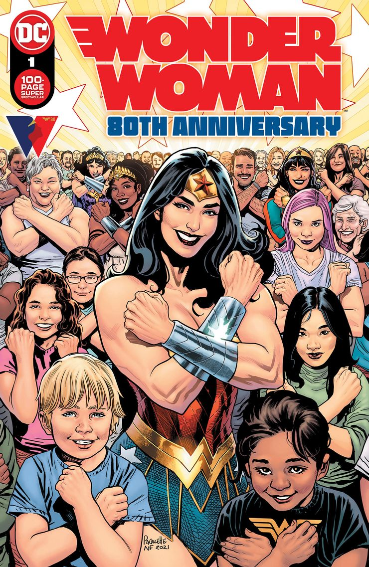 WONDER WOMAN 80th ANNIVERSARY 100 PAGE SUPER SPECTACULAR 1 A Recent Comic Cover Updates For The Week Ending 2021 07 23