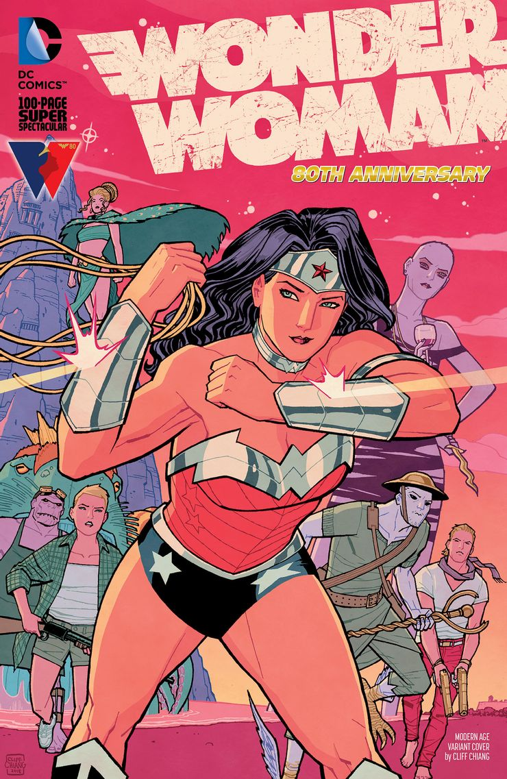 WONDER WOMAN 80th ANNIVERSARY 100 PAGE SUPER SPECTACULAR 1 E Recent Comic Cover Updates For The Week Ending 2021 07 23
