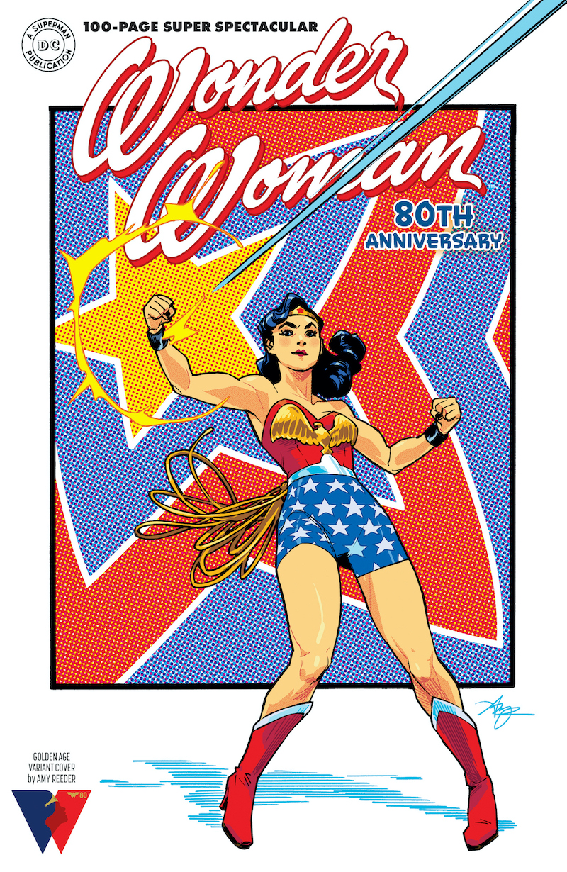 WW80THANN Cv1 Gldn Age var 00161 Recent Comic Cover Updates For The Week Ending 2021 07 23