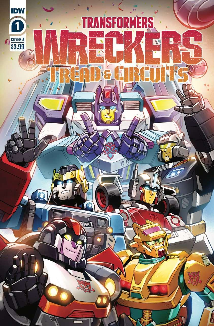 thumbnail transformers wreckers tread circuits 1 cover a by jack lawrence Recent Comic Cover Updates For The Week Ending 2021 07 30