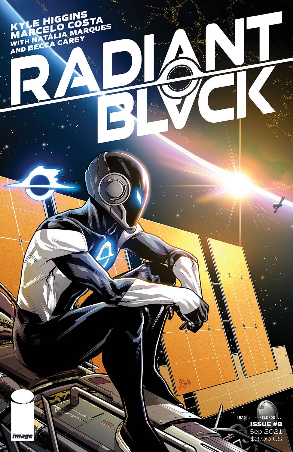 Radiant Black 8 spoilers 0 2 Recent Comic Cover Updates For 2021 10 04